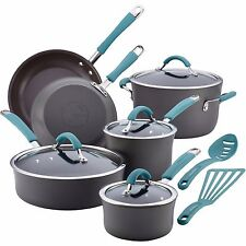 Rachael Ray Pots And Pans Cucina 12 Piece Cookware Sets Nonstick NEW IN BOX