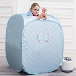 2.2L Portable Steam Sauna Spa Room Full Body Slimming Detox Tent Indoor