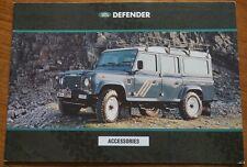Land Rover Defender Accessories Brochure