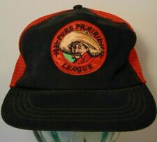 Vintage 1970s Pure Prairie League Music Concert Snapback Trucker Hat Made in Usa