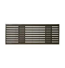 Ge Rag62 Exterior Architectural Louvers Durable Polycarbonate: Maple