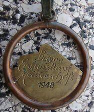 Bayrische Eiskunstlauf Meisterschaft 1948  Garmisch , Anhänger