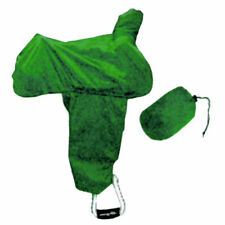 NEW Coronet Western Saddle Cover with Fenders And Tote - Green