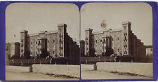 Nice ou Cannes Hôtel France Stereo Vintage albumine ca 1870
