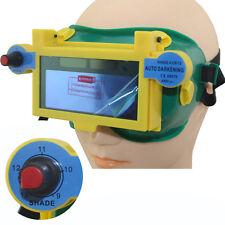 1pc Solar Auto Darkening Welding Goggles Helmet Arc Tig Mig Mask Welder Eyeshade
