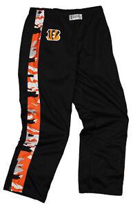 Zubaz Men's NFL Cincinnati Bengals Print Stadium Pants
