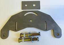 """Belt Grinder D-backing plate for 2x72"""" knife making grinder with bolt axles"""