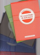 6 quaderni di ricette di cucina di vari argomenti -