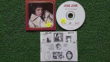 """JOSE JOSE """"El Príncipe"""" ORIGINAL OOP 1998 Issue CD w/ PROMO STICKER Camilo Sesto"""