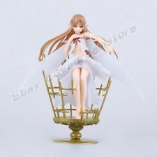 "S.A.O. Sword Art Online Asuna Fairy Dance 21cm/8.4"" 1/8 Scale PVC Figure No Box"