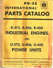 International Parts Catalog, Industrial Engines & Power Units (SEE PIC) PU-32.MC