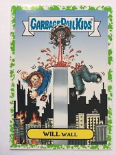 Garbage Pail Kids Prime Slime Trashy Sci-Fi TV Sticker 8b Will Wall Green Puke