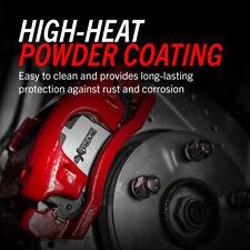 Disc Brake Caliper-Red PowderCoatedBrake Caliper Pair Rear,Rear Left Power Stop