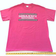 Nicki Minaj Minajesty Pink L T Shirt Perfume Promo Barbie Drake Meek Rap Hip Hop