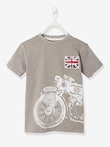 T-Shirt für Jungen Kinder Sommer T-Shirt Kurzarm Shirt mit Motiv Kindermode