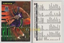 NBA FLEER 1995-1996 SERIES 2 - Glenn Robinson, Bucks # 405 - Mint