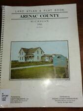 1864 MI MAP ALCONA ALGER ALLEGAN ALPENA ANTRIM ARENAC BARAGA BARRY BAY COUNTY xl