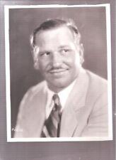 original 1930's Wallace Beery publicity photo,
