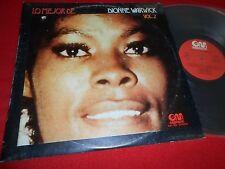 DIONNE WARWICK Lo mejor de Vol.2 LP 1974 Gramusic SPAIN SPANISH edition