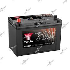 Batterie auto, voiture YBX3334 12V 90Ah 700A Yuasa SMF Battery 303X174X222mm G8