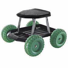 TRI Rollsitz Gartengerät mobiler Gartensitz Gartenwagen Gartenhelfer Rollwagen