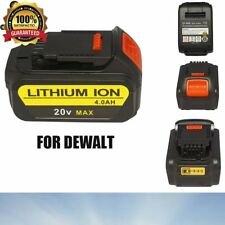 4.0 Ah Li-Ion Battery 20V Max Battery Pack Tools Replacement For Dewalt Dcb204