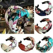 Women's Tie Headband Twist Hairband Bow Knot Cross Hair Band Hoop Accessories