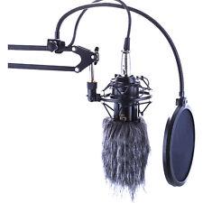 9cm Microphone Mic Fur Windscreen Windshield Wind Muff For Camera Recorder