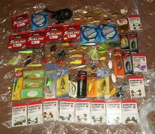 New listing Large Vintage Fishing Lure And Tackle Lot/Great Variety!