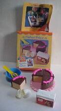VINTAGE 1988 Fisher Price FUN with FOOD CAKE BAKING FUN 6510 NEW +Catalog Insert