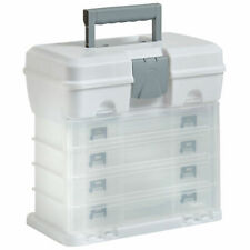 Home Garage Tool Box Storage Carry Case Utility DIY Organizer 4 Drawer & Divider