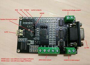 Universal Band Decoder (Kenwood CAT protocol) for hamradio TS590 etc.
