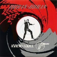 "DURAN DURAN ""A View to a Kill"" UK (45 RPM) 7"" Record w/ Die-cut Cover Pic Sleeve"