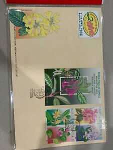 2000 malaysia fdc stamp week flower first day cover set a