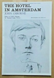 The Hotel In Amsterdam programme Duke Of York's Theatre 1968 Kenneth Haigh