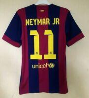 FC BARCELONA 20142015 HOME FOOTBALL JERSEY CAMISETA SOCCER SHIRT #11 NEYMAR