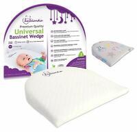 Bassinet Wedge | Pregnancy Pillow | 12-Degree Incline | Waterproof Layer & Handc