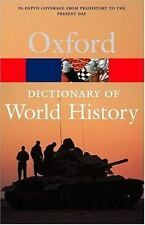 Oxford Dictionary of World History-ExLibrary