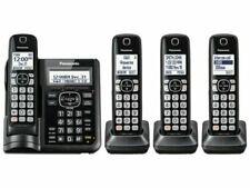Panasonic KX-TGF544B 4 Handset 1.9 GHz One-Touch Call Cordless Phone System -...