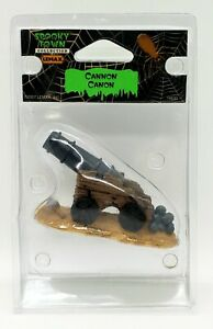 Lemax Spooky Town Cannon #74630