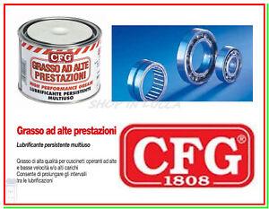 Grasso ALTE PRESTAZIONI CFG 500ml Idrossistearato di Litio Cuscinetti Cingoli