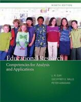 NEW! Educational Research:Competencies for Analysis and Applications by L R Gay,