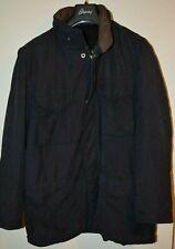 Ermenegildo Zegna Ski Fabric Jacket M Medium Italy Leather Nylon