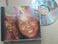 Randy Crawford Don't Say It's Over Warner Bros. Records 936245381-2  UK CD Album