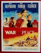 AUDREY HEPBURN - Individual Card # 03 - from Movie Idols Set - WAR AND PEACE