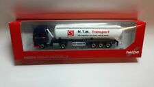 Herpa 305471 - 1/87 MAN TGX XXL silo-autoarticolati-NTM (NL) - NUOVO