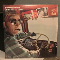 """JERRY LEE LEWIS - I-40 Country (SRM-1-710) - 12"""" Vinyl Record LP - SEALED"""