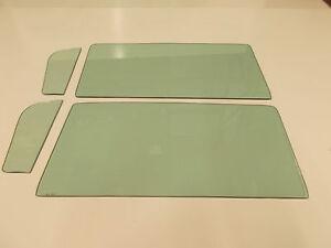 Green Tint Glass 1959 1960 El Camino Vent Door Set
