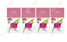 LOT 4 MEIJI Amino Collagen Refill 214g 4 packs 120 days  Powder Drink Japan NEW