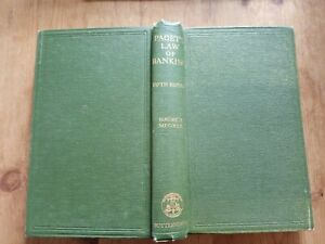 PAGET'S LAW OF BANKING. 1947. 5TH EDITION. MEGRAH. GOOD.